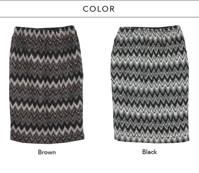 マルチミックスカラースカート